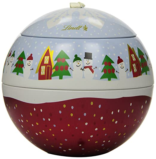Amazoncom  Lindt LINDOR Holiday Snowman Milk  White Chocolate