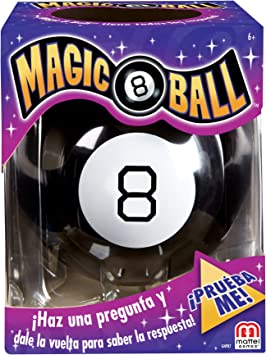 Mattel Games - Magic 8 Ball Juego de Bola Mágica, Juego de Mesa ...