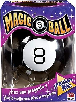 Mattel Games - Magic 8 Ball Juego de Bola Mágica, Juego de Mesa Infantil (Mattel GNP87): Amazon.es: Juguetes y juegos