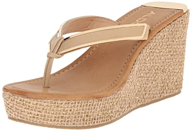 aa582084f061 Aldo Women s Jeroasien Wedge Sandal  Amazon.in  Shoes   Handbags