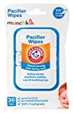Amazon Price History for:Munchkin 36 Pack Arm and Hammer Pacifier Wipes, White