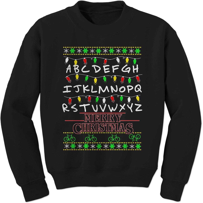 Amazon.com: Expression Tees Strange Merry Christmas Ugly Holiday ...