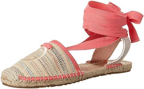Tommy Hilfiger L1285ana HG 14d, Alpargatas para Mujer, Marrón (Desert Sand-New Stripe 901), 41 EU: Amazon.es: Zapatos y complementos