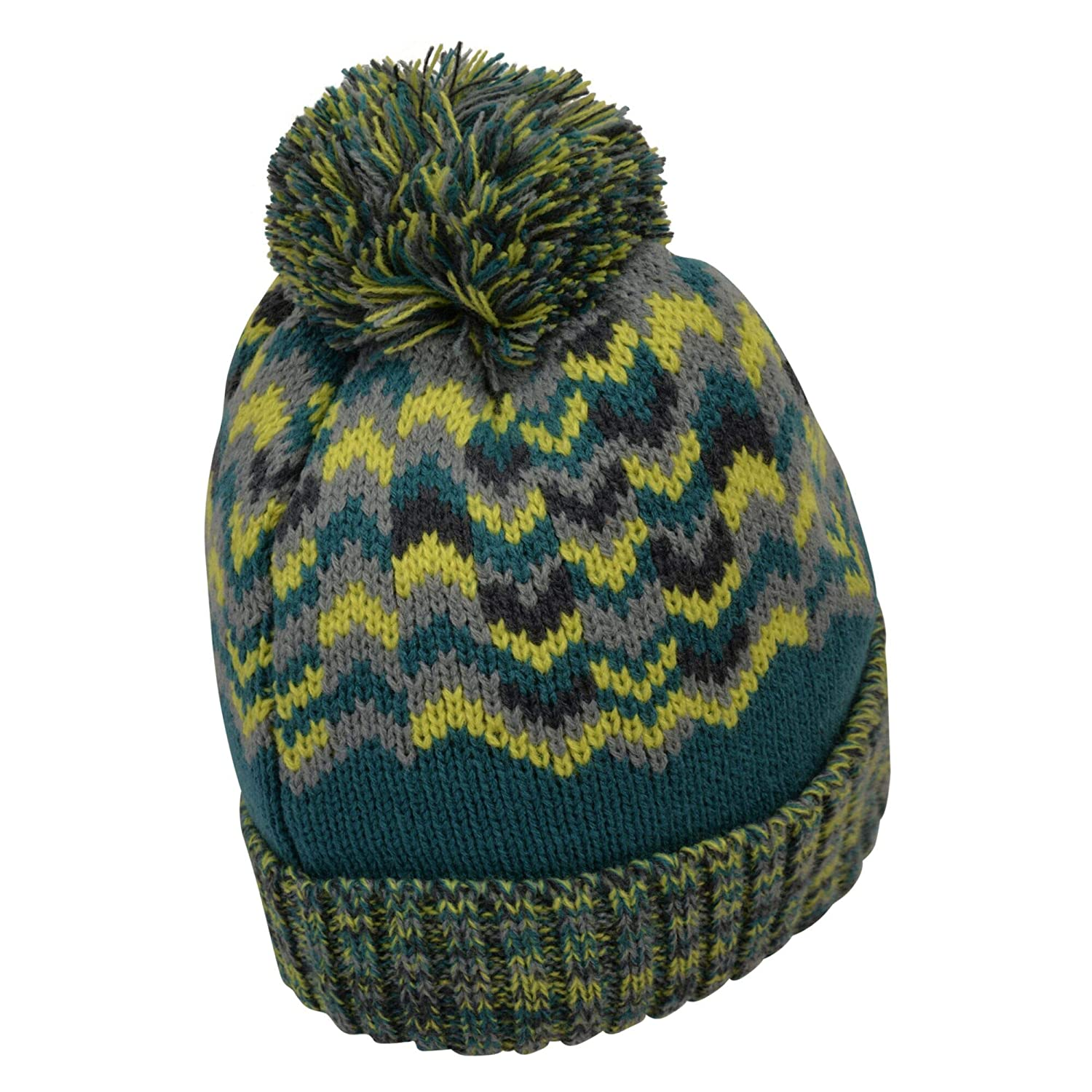 Dare 2b Mens Headstrong Beanie Fleece Lined Knitted Bobble Hat