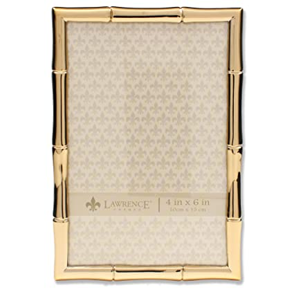 Amazon.com - Lawrence Frames 4x6 Gold Metal Picture Frame with ...