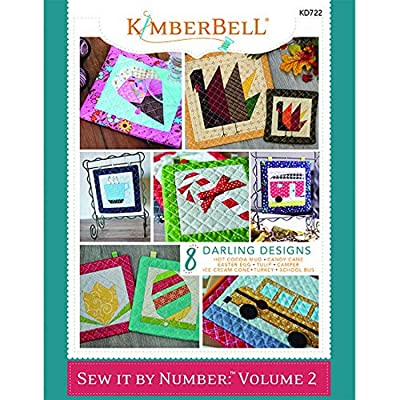 Kimberbell Designs Book: Sew it by Number Volume 2 (KD722): Home & Kitchen