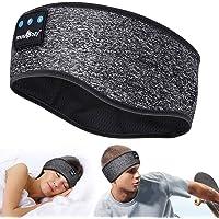 Sleep Hoofdtelefoon Bluetooth - V5.0 Hoofdband Hoofdtelefoon Soundband Hoofdtelefoon met Ultra-dunne HD Afneembare…
