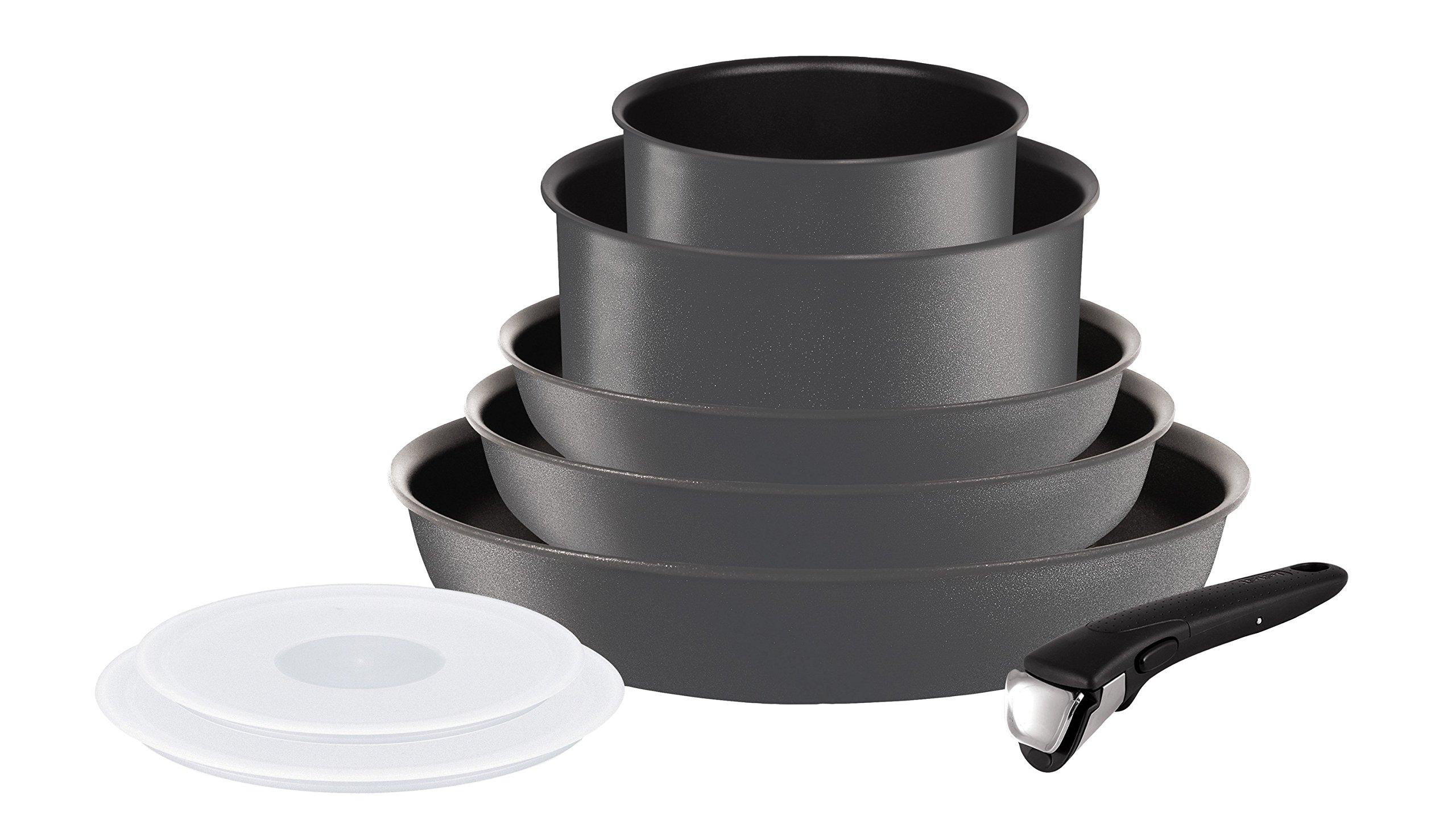 Tefal L6589403 Set de poêles et casseroles - Ingenio 5 Performance Gris 8 Pièces - Tous feux dont induction product image