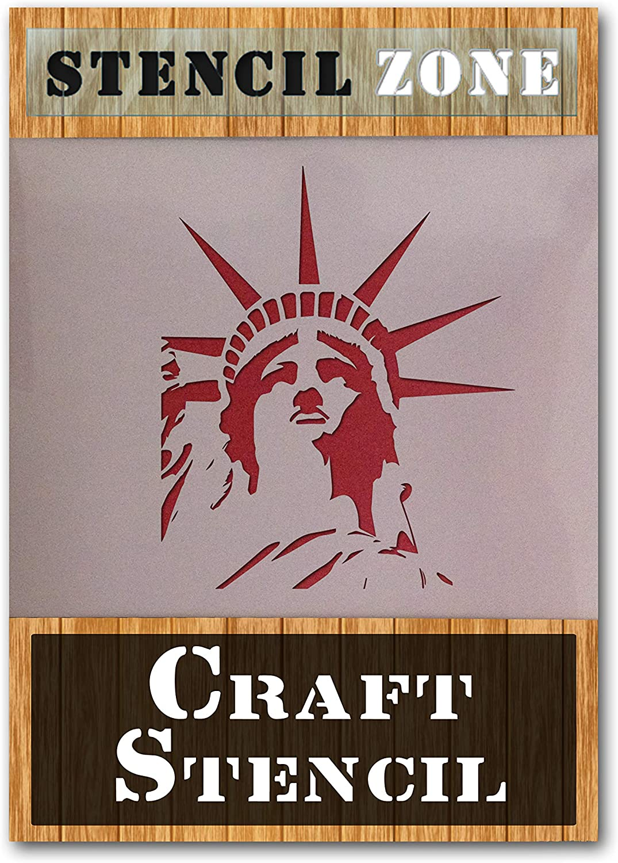 XXSmall Statue of Liberty Mylar Airrush Schablone 2 A6 Stencil