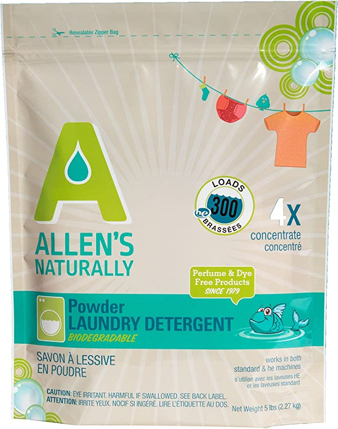 Allen's Naturally Laundry Powder