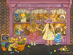 Some Bunny Loves You 500 pc Jigsaw Puzzle by SUNSOUT INC