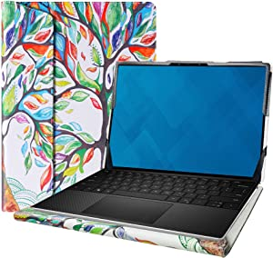 "Alapmk Protective Cover Case for 13.3"" Dell XPS 13 9300 Series Laptop[Note:Not fit XPS 13 7390 9380 9370 9360 9350/XPS 13 2-in-1 9365 7390],Love Tree"