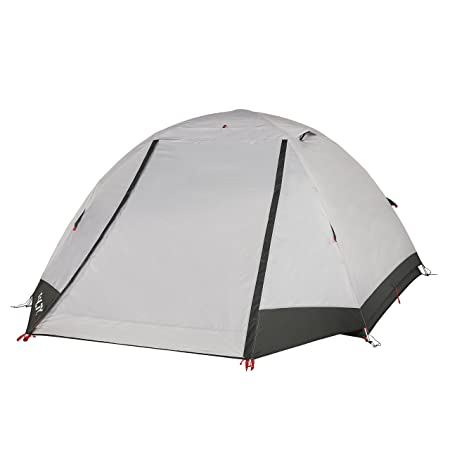 Kelty Gunnison Person Backpacking and Camping Tent with Footprint, Grey