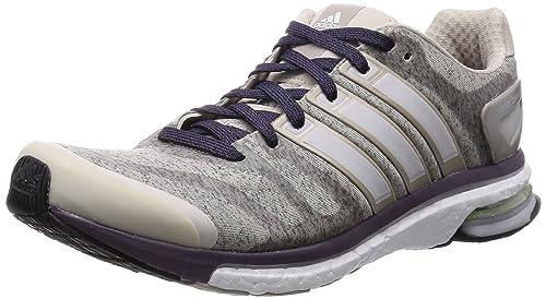 official photos c4f3a bb5ae adidas Adistar Boost Heather - Zapatillas de running para mujer  Amazon.es   Zapatos y complementos
