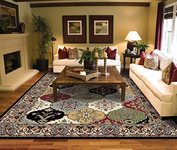 Traditional Black Area Rugs 5×7 Under 50 Prime Rug