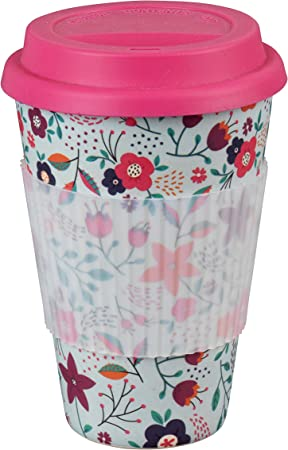 Taza Sippy reutilizable para llevar sin BPA con amapolas Cambridge ...