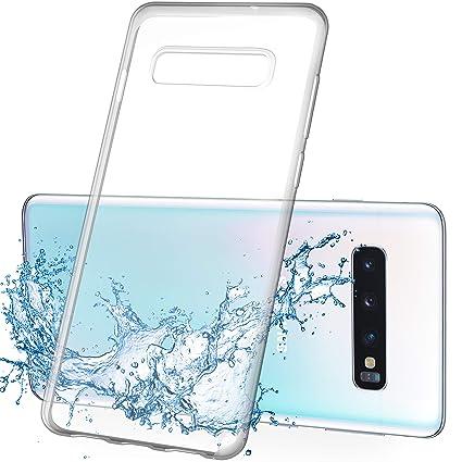 Amazon.com: Samsung Galaxy S10 Funda transparente, Premium ...