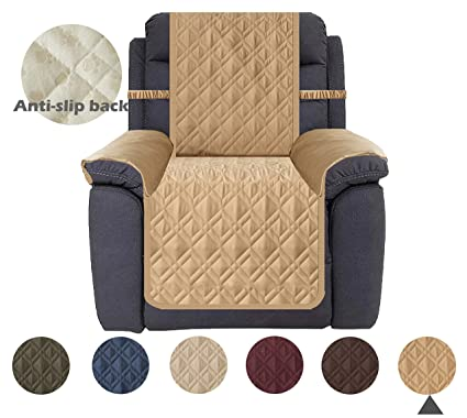 Strange Ameritex Waterproof Recliner Cover Stay In Place Dog Couch Chair Cover Furniture Protector For Pets And Kids Pattern1 Sand Recliner Inzonedesignstudio Interior Chair Design Inzonedesignstudiocom