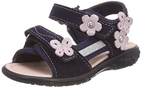 f179f7a4562 Ricosta Girls 67 6420200 Heels Sandals Blue Size  9 UK