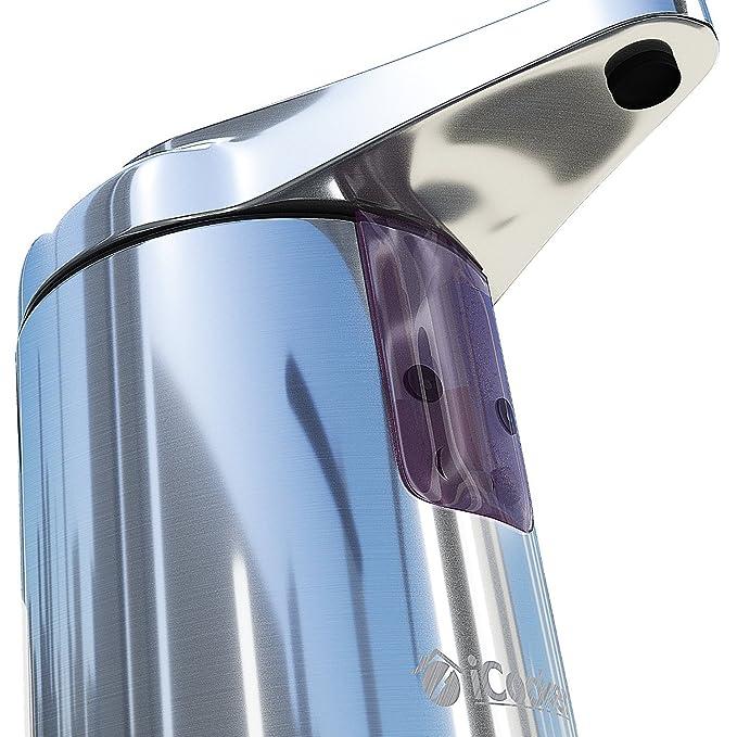 Amazon.com: Dispensador De Jabon Liquido Con Sensor Automatico - De Acero Inoxidable - Para Baño Y Cocina - Electrico: Home & Kitchen