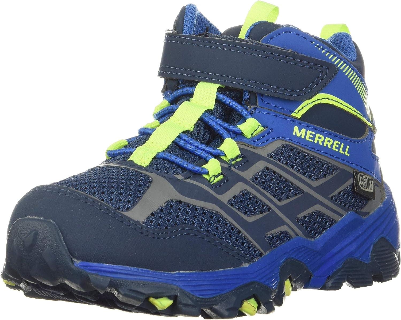 Merrell M-moab Fst Low A//C Waterproof Zapatillas de Senderismo Unisex ni/ños