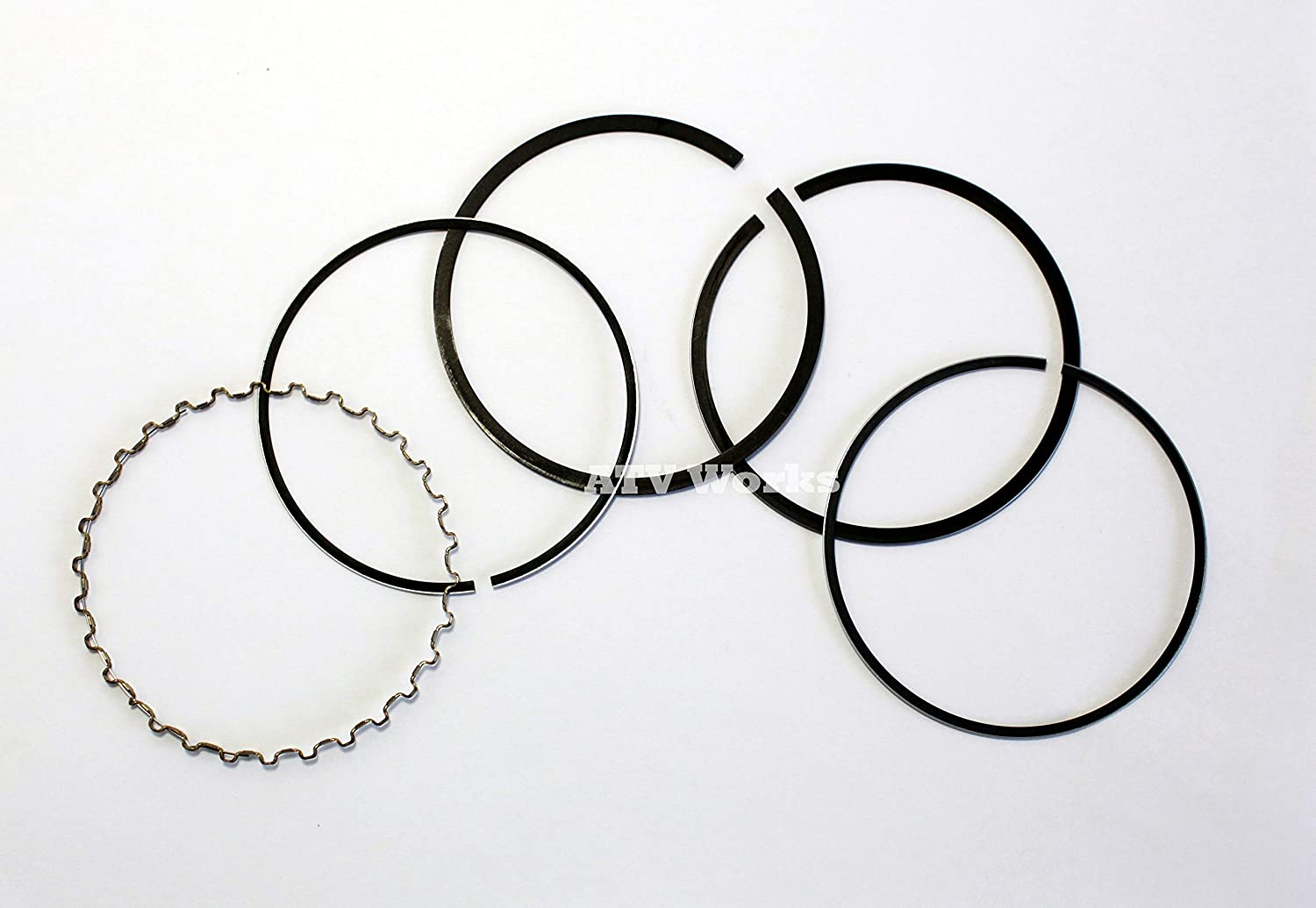 New OEM Standard Size Piston Rings - Mule (Gas Series) 2500, 2510, 2520, 3000, 3010, 3020, 4000, & 4010 (KAF620 Engines) ATVWorks
