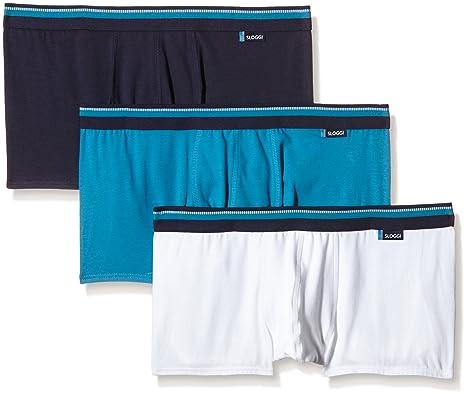 afa8afb5be9d Sloggi Men Urban Hipster C3P Boxer Briefs, Multicoloured (Blue Light  Combination), X-Large (Size:38): Amazon.co.uk: Clothing