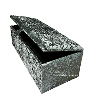 Awesome 40 Inch Extra Large Crushed Velvet Ottoman Storage Bedding Toy Box Chest Silver Machost Co Dining Chair Design Ideas Machostcouk