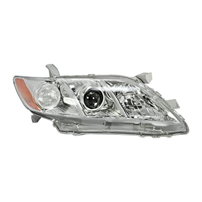 Passenger Side Headlight Lamp for 2007-2009 Toyota Camry LX, XLE Models - TO2519105 8113006202: Automotive