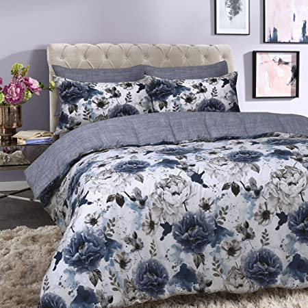 Sleep Piumino Matrimoniale Cotone King Blu