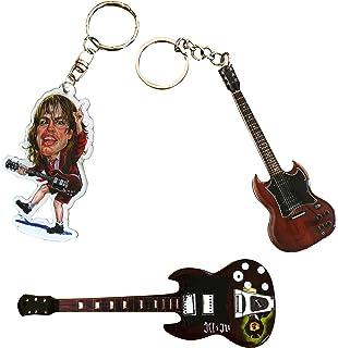 Amazon.com: Randy Rhoads Guitarra Eléctrica clave Cadena ...