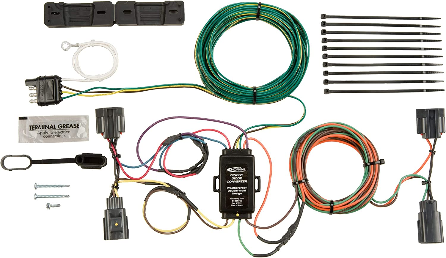 Hopkins 56200 Plug-In Simple Towed Vehicle Wiring Kit on nissan wiring harness, dodge wiring harness, fj cruiser wiring harness, toyota wiring harness, jeep commander wiring harness, jeep cj7 wiring-diagram, jeep wk wiring harness, ford wiring harness, jeep trailer wiring harnesses, jeep wrangler wiring harness connectors, jeep wrangler aftermarket stereo, jeep liberty wiring harness, 1995 jeep wiring harness, jeep wrangler wiring diagram, mazda wiring harness, jeep xj wiring harness, radio wiring harness, jeep wrangler trailer wiring, jeep cj wiring harness, jeep tow wiring harness,