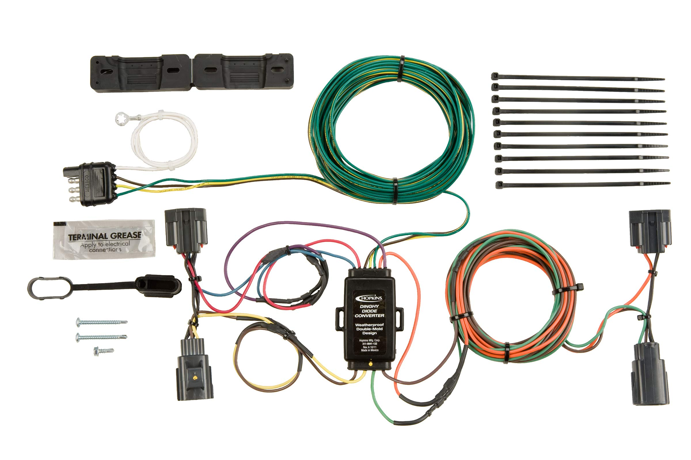 Hopkins 56200 Plug-In Simple Towed Vehicle Wiring Kit by Hopkins Towing Solutions