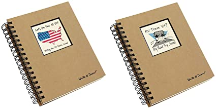 Amazon com : 50 States Road Trip and RV Travel Journal Set