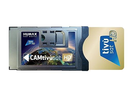 67 opinioni per Humax CAM Tivùsat HD con Smartcard Tivùsat HD Dorata, Nero/Argento