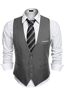 damen noch eine Chance Discounter Baxboy Neal Herren Anzug Weste Anzugsweste Sakko Weste ...