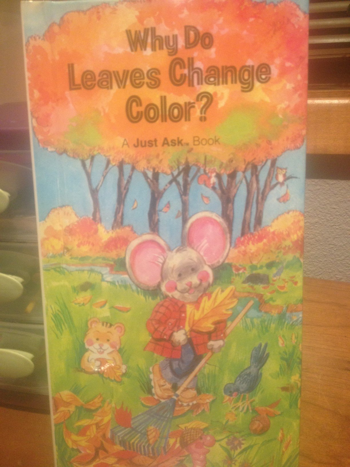 Why Do Leaves Change Color Just Ask Series Chris Arvetis
