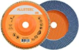Walter 15W706 FLEXSTEEL Flap Disc [Pack of 10] - 60