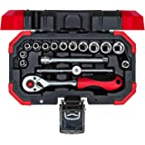 GEDORE R49003016 Socket Set, 1/4 Tum