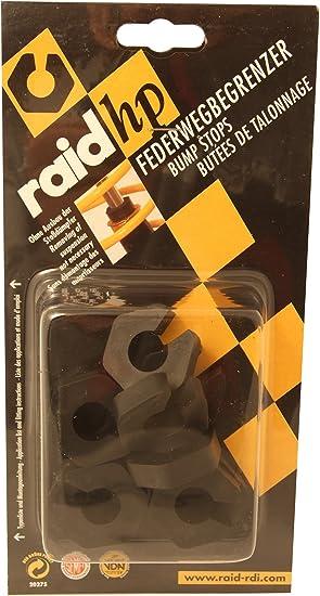 Raid Hp 300024 Federwegbegrenzer Clip On 16mm Durchmesser Verhindern Das Aufschlagen Der Karrosserie Auf Die Räder Auto