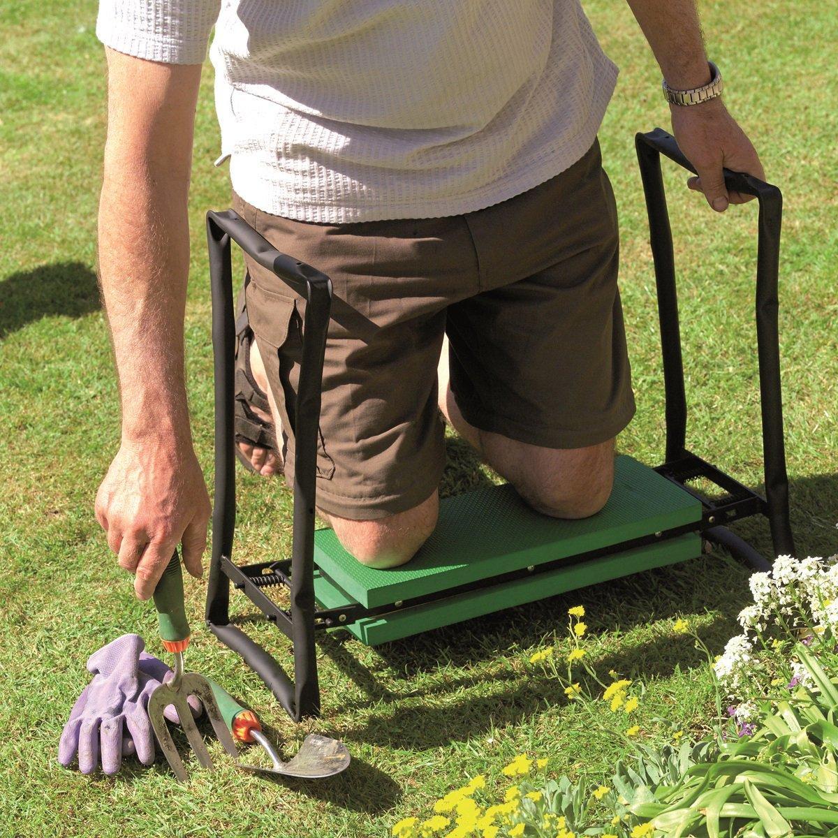 Gardman R616 Fold Away Garden Kneeler and Seat, 22'' Long x 11'' Wide x 19'' High