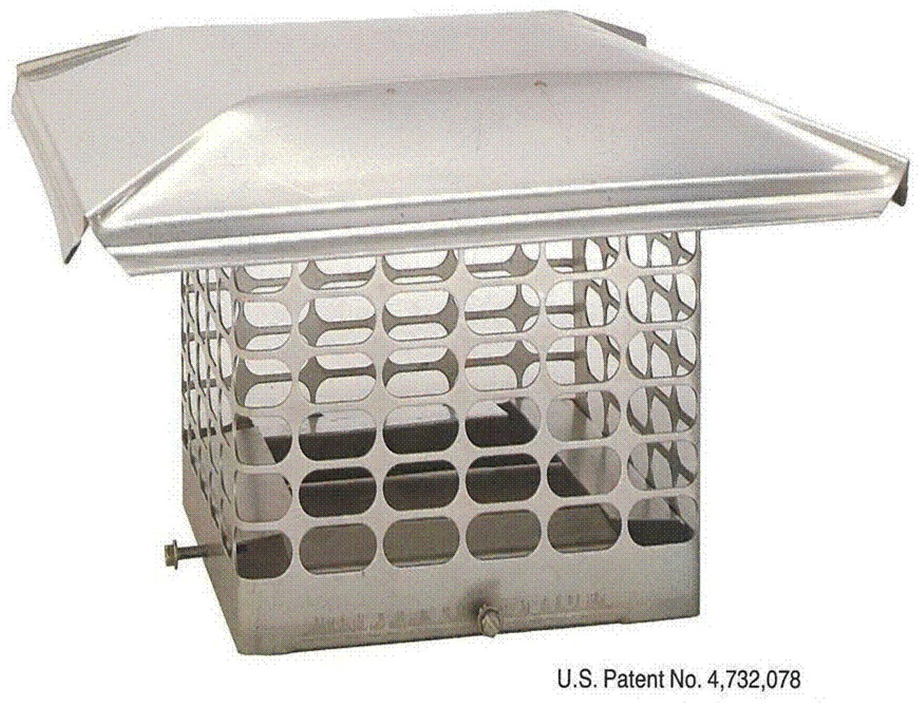 The Forever Cap CCSS88 8 x 8 Single Flue Stainless Steel Chimney Cap by The Forever Cap