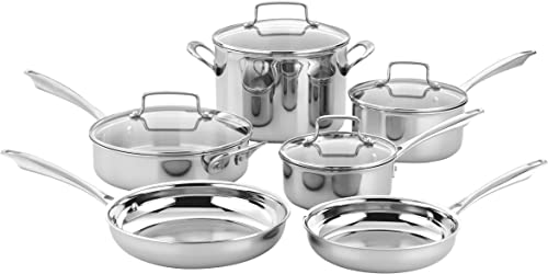Cuisinart-TPS-10-10-Piece-Tri-ply-Stainless-Steel-Cookware-Set
