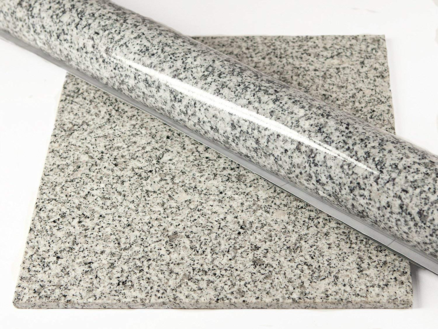 Instant Granite Luna Pearl Counter Top Film 36'' x 144'' Self Adhesive Vinyl Laminate Counter Top Contact Paper Faux Peel and Stick Self Application by Instant Granite (Image #5)