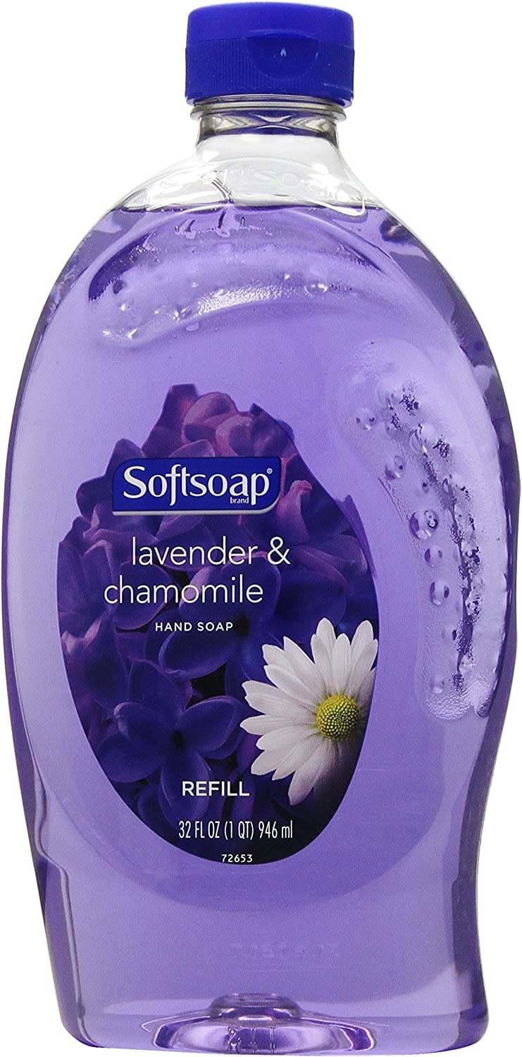 Softsoap Liquid Hand Soap Refill, Lavender and Chamomile - 32 Fluid Ounce