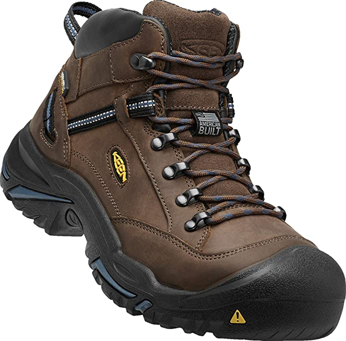 KEEN Utility Men's Braddock Waterproof Leather Work Boot