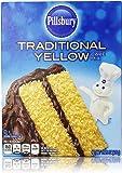 Pillsbury Traditional Yellow Cake Mix 15.25 Oz (Pack of 2)