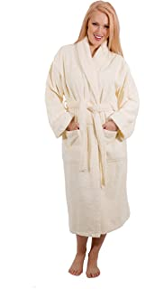 d85dc2d134 Luxury Terry Cloth Hotel Bathrobe - Premium 100% Turkish Cotton Robe Unisex