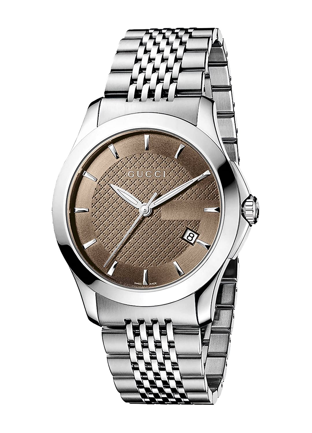 3f4e3f6a2c5 Amazon.com  Gucci Gucci Timeless Men s Watch(Model YA126406)  Gucci  Watches