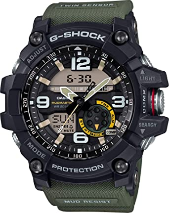 9df096a70 Casio Sport Watch Analog-Digital Display for Men GG-1000-1A3: Amazon.ae